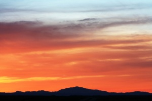 Laramie Peak Sunset