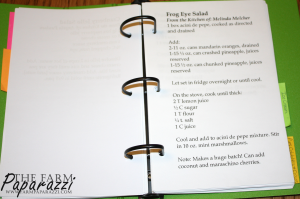 Organizing Recipes 1 | The Farm Paparazzi