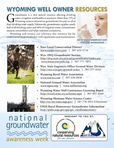Groundwater Awareness Campaign | The Farm Paparazzi