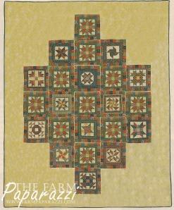 The Farmer's Wife Wedding Quilt | The Farm Paparazzi