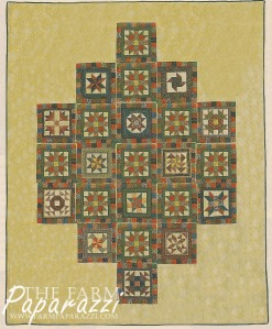 The Farmer's Wife Wedding Quilt | The Farm Paparazzi