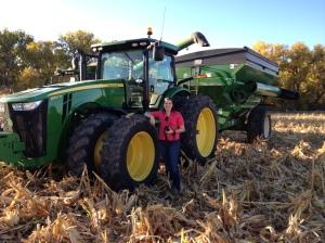 Liz & Tractor